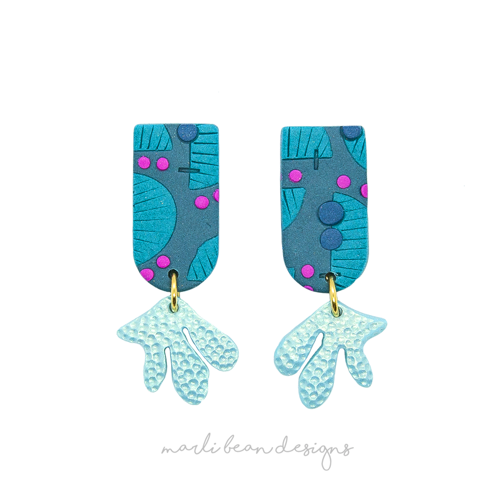 Deep Sea Geo Midi Dangles