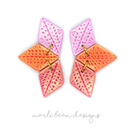 Tangelo | Trio Statement Studs