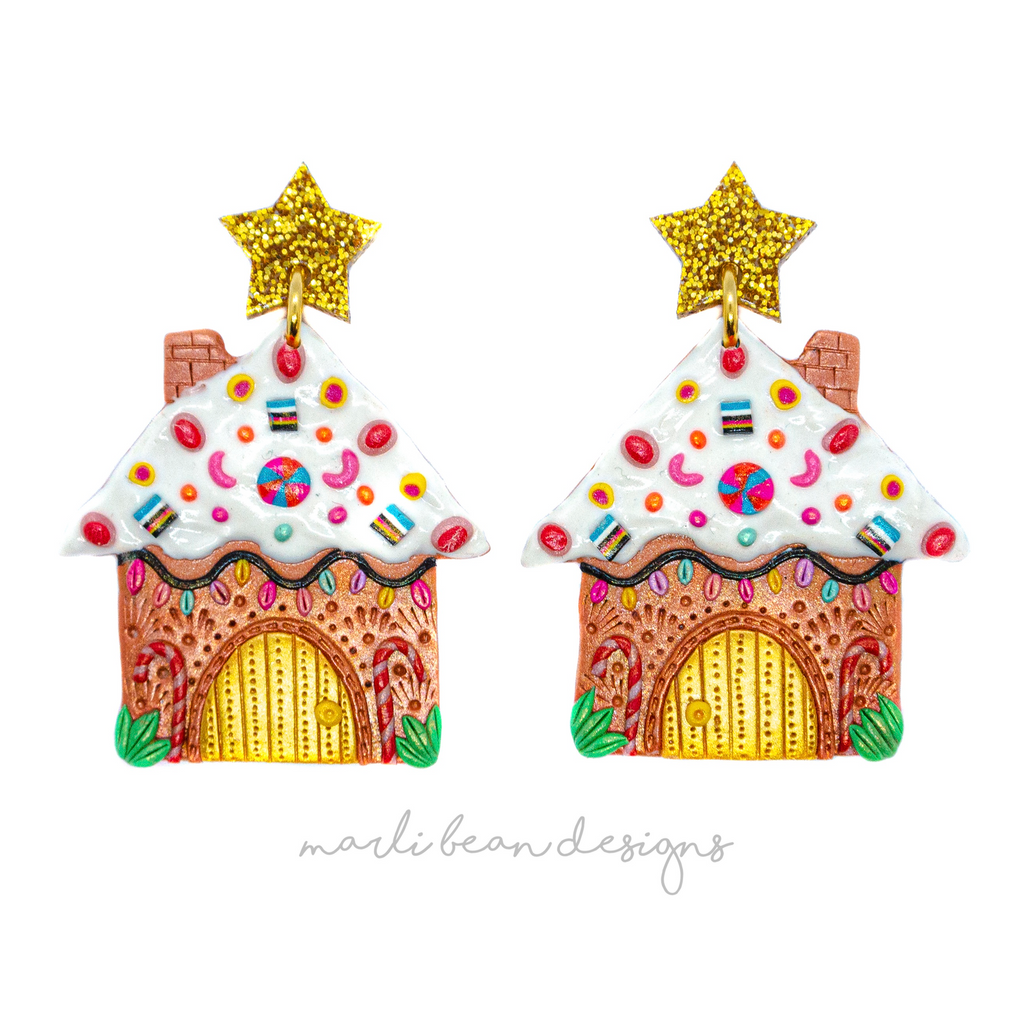 Gingerbread House Dangles | 3