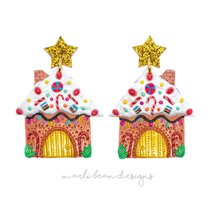 Gingerbread House Dangles | 4