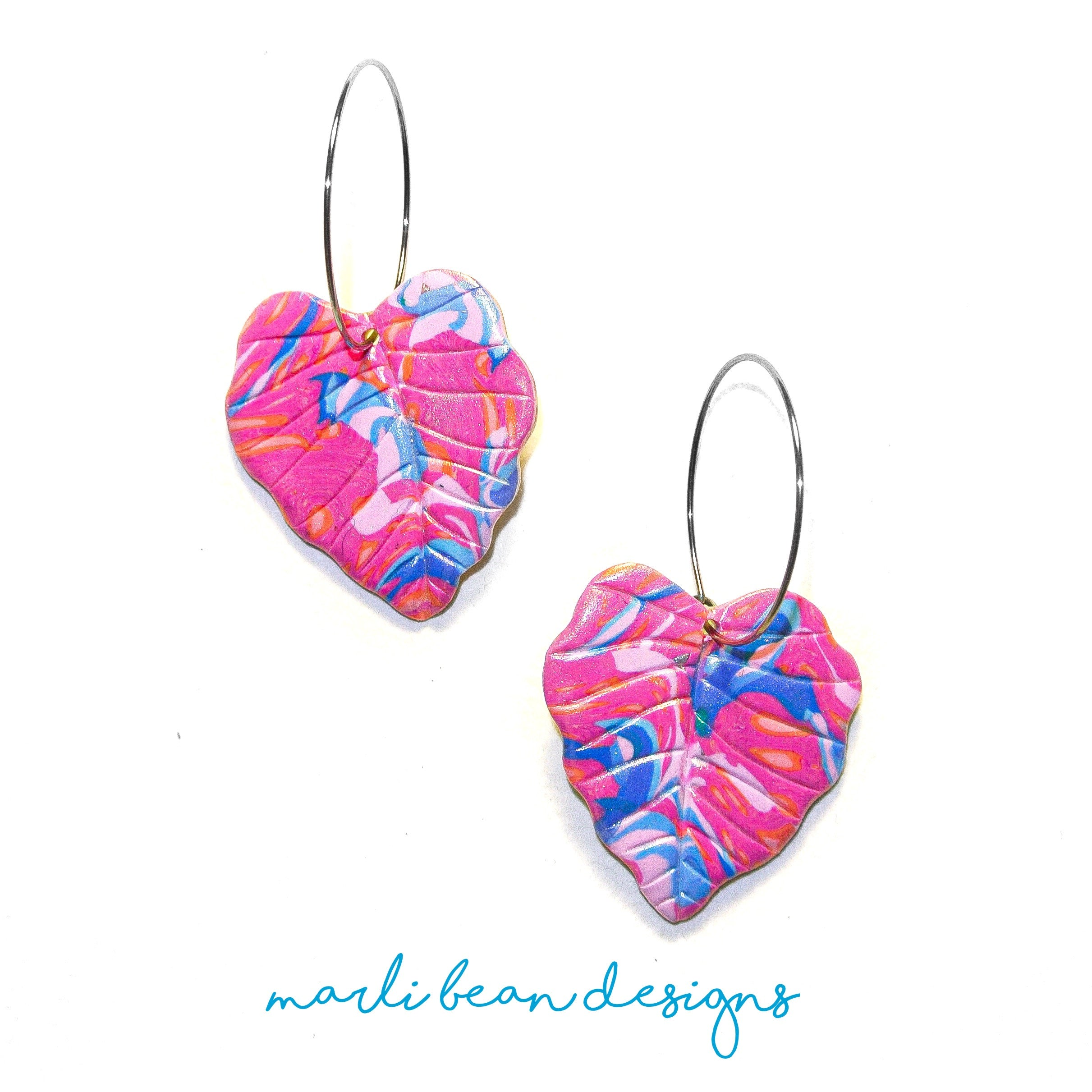 Berry Swirls | Philodendron Hoops