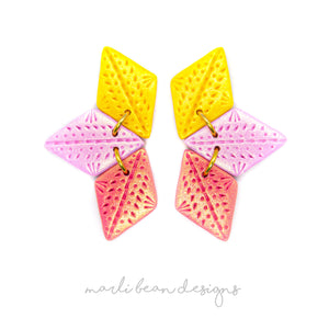 Lemon Berry | Trio Statement Studs