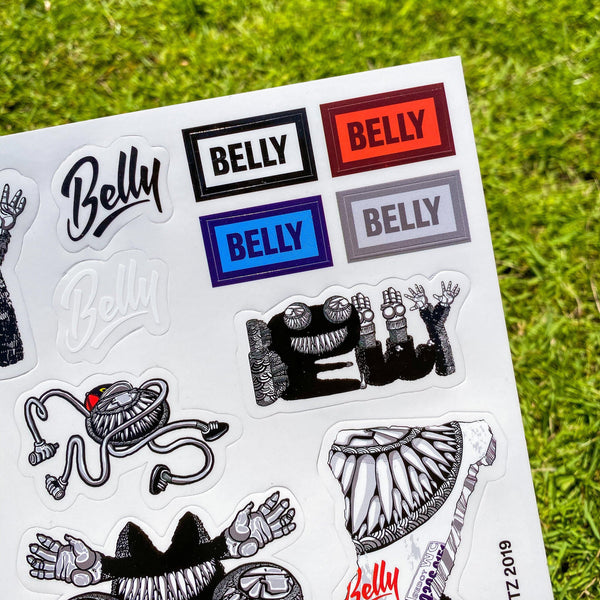 Darbotz x Belly Stickers