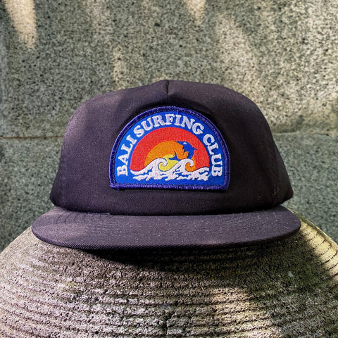 Bali Surfing Club Cap - Black