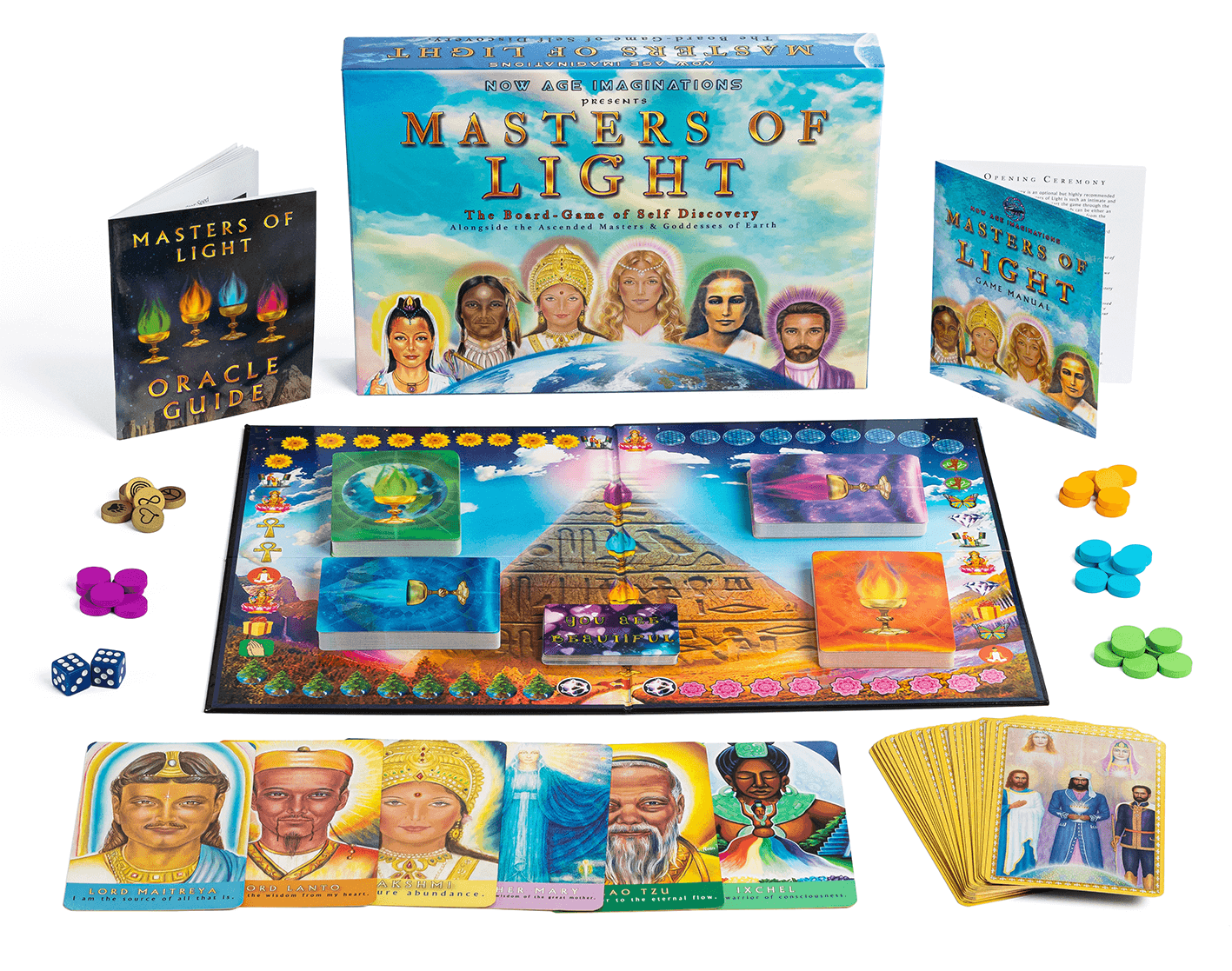 Masters of Light - The Ascended Masters Oracle Board-Game