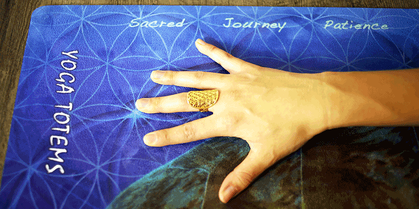 'Sacred Journey' Turtle - Yoga Mat