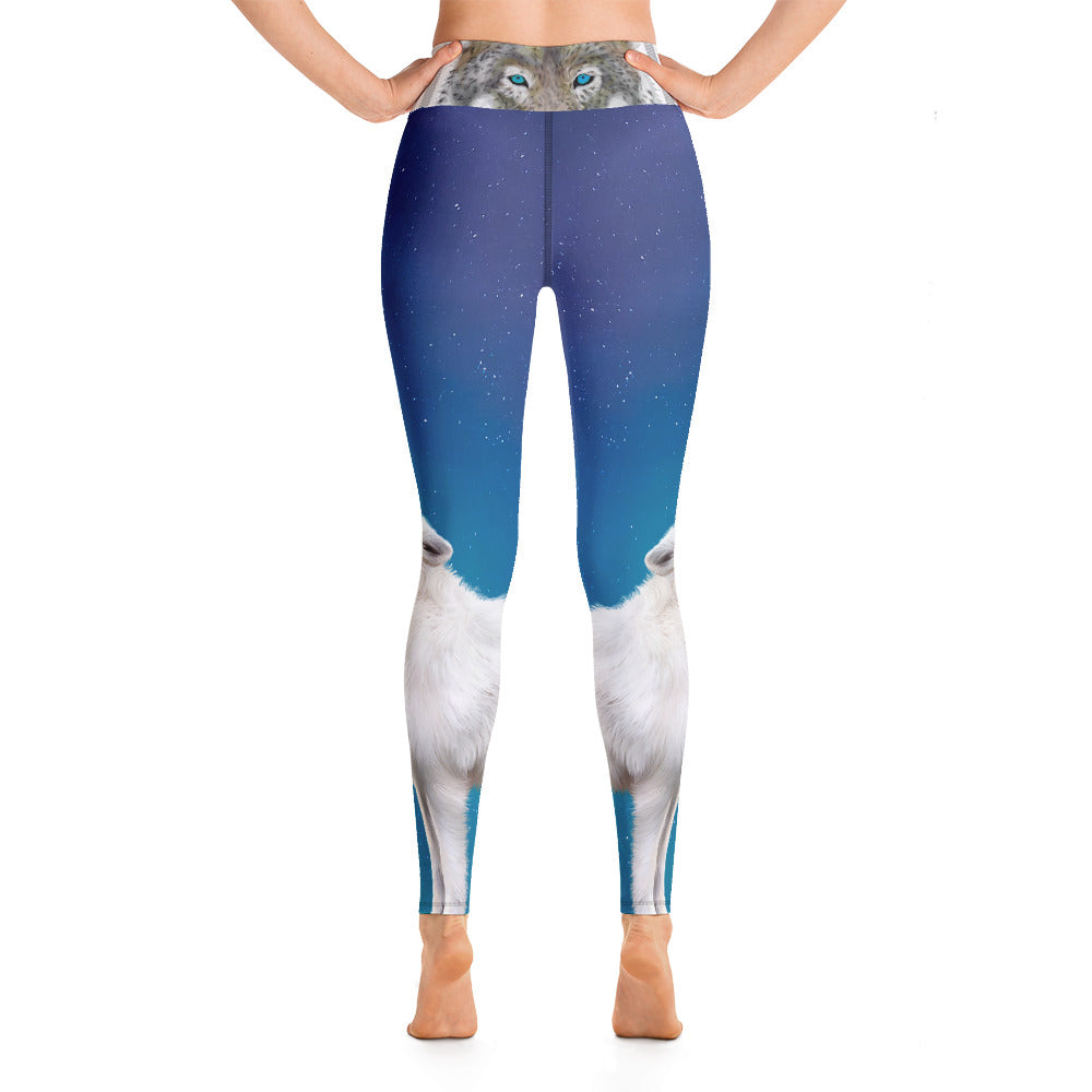 Wolf Howl - Yoga Leggings