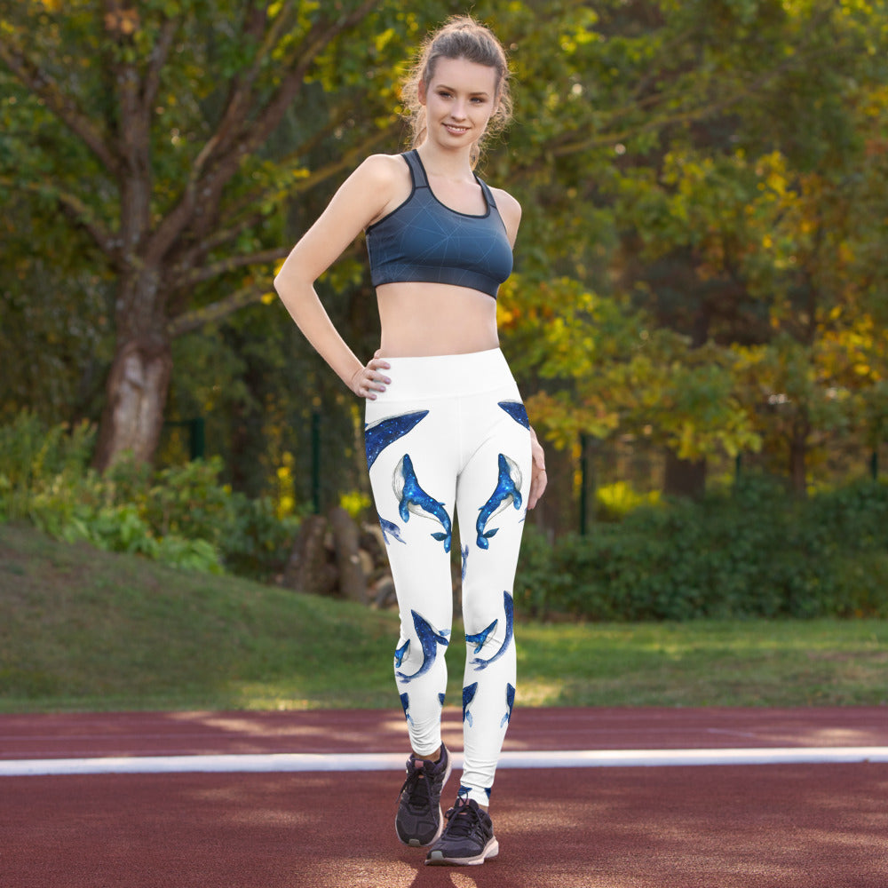 Whale Flow Yoga Leggings