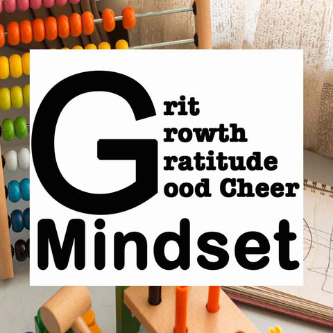 """One of the best parenting resources for teaching grit and growth mindset to young kids"" - The Big G Mindset e-Book (PDF Printable)"