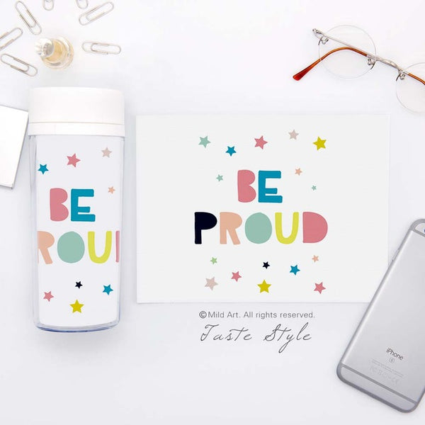 Inspirational Quotes Kids Water Bottle 300ml