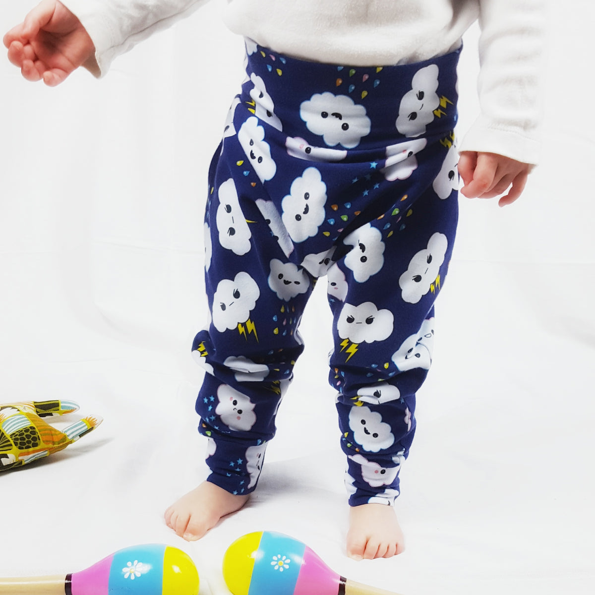 Bright & Colourful Harem Leggings from Newborn to Six years