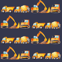 Load image into Gallery viewer, Construction Diggers T-shirt
