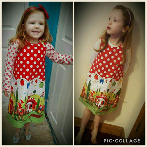 Gnomesville Pinafore Dress