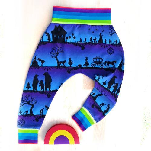 Rainbow Fairytales Harem Pants
