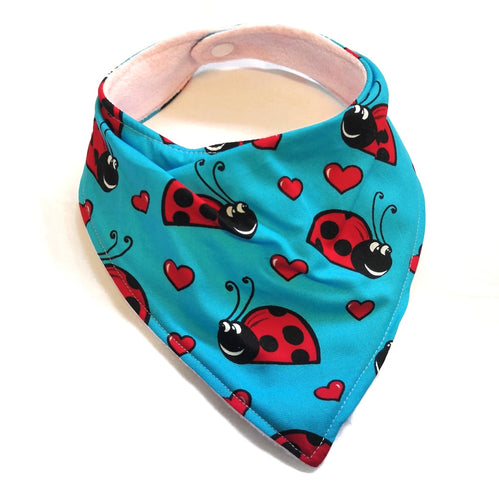 Dribble Bib - Ladybirds
