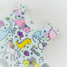 Load image into Gallery viewer, Unicorn & Dinosaur Dress (READY MADE)