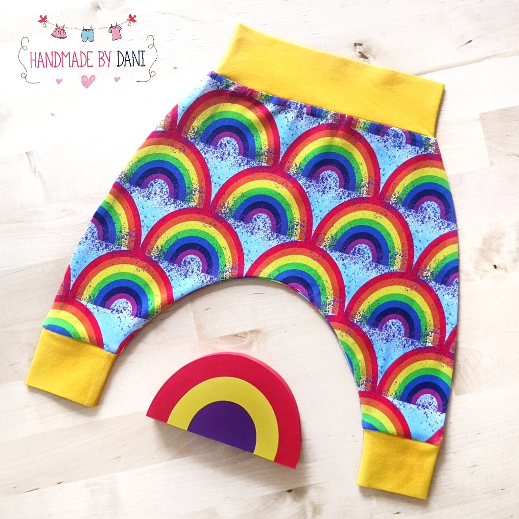 Rainbow Harem Pants