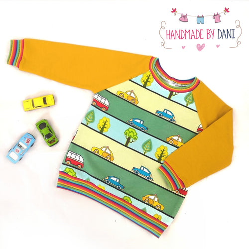 Cartoon Cars Sweater