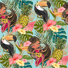 Load image into Gallery viewer, Tropical Pinafore Dress