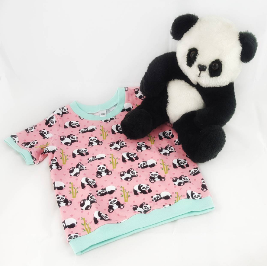 b4b541307bdc Young Childrens Panda T-Shirt - Baby