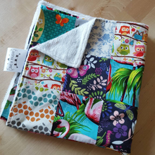 Load image into Gallery viewer, Patchwork Baby Girls Blanket