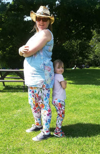 Ladies Summer Meadow Leggings