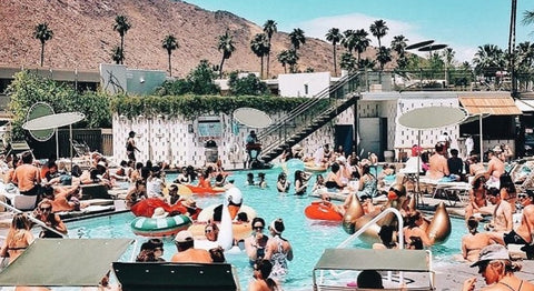 Pool at Ace Hotel, Palm Springs, California