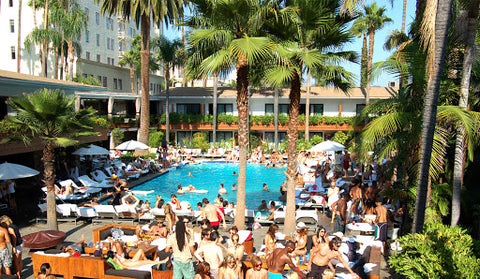 Tropicana Pool party at The Hollywood Roosevelt