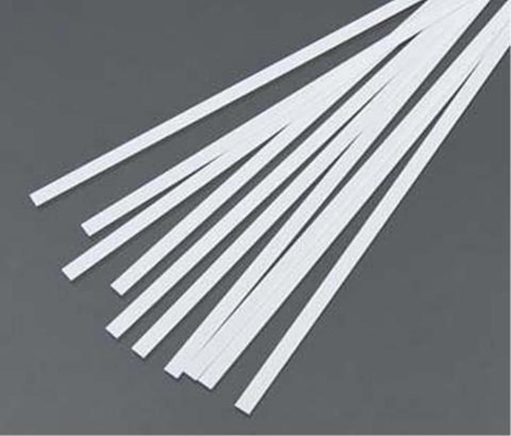 "Evergreen 122 Styrene Strip (0.020 X 0.040 X 14"") - 10 pieces"