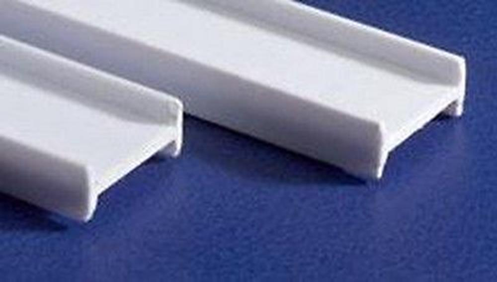 "Evergreen 275 Styrene I-Beam (5/32 X 14"") - 4 pieces"
