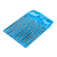 Excel Tools 55607 Needle Files 12 Ass. in Pouch