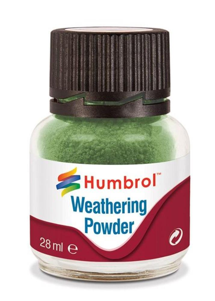 Humbrol 10005 Weathering Powder 28ml Green