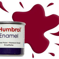 Humbrol 133 ENAMEL SATIN BROWN