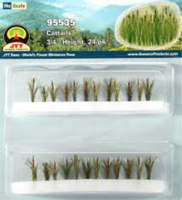 JTT Scenery 95535 3/4 Cattails (24)