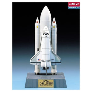 Academy 12707 1/288 SPACE SHUTTLE WITH BOOSTER ROCKETS