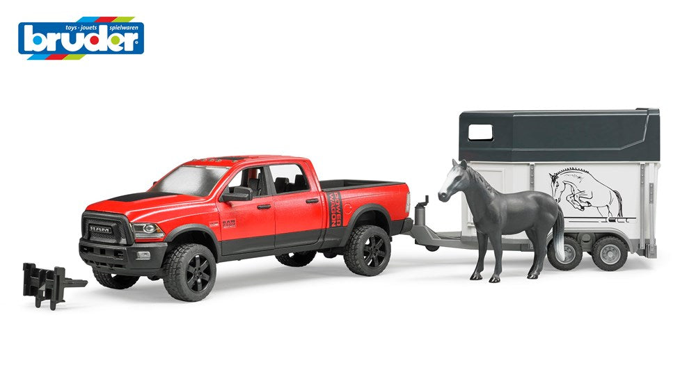 Bruder 2501 RAM Power Wagon w/Horse Float