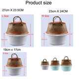 Rattan Basket Flower Pot