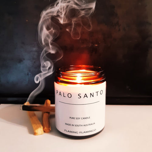 PALO SANTO soy candle with essential oils