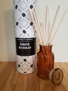 WHITE RUSSIAN REED DIFFUSER - flaming flamingo