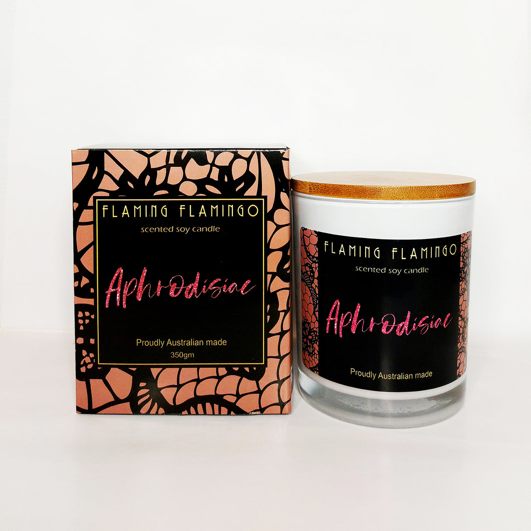 APHRODISIAC  - Vanilla caramel and butterscotch - flaming flamingo