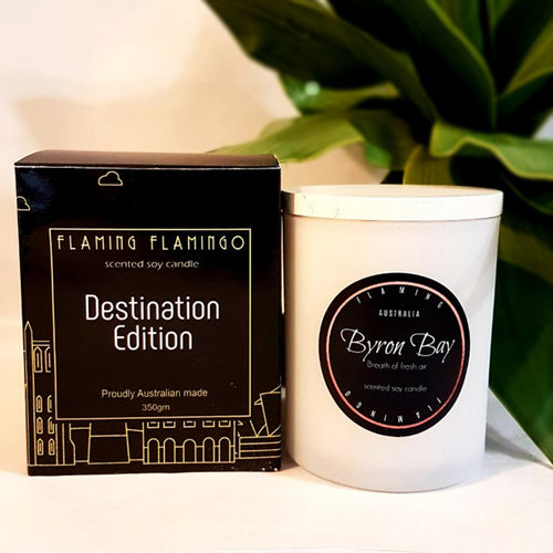 BYRON BAY DESTINATION CANDLE - Breath of fresh air