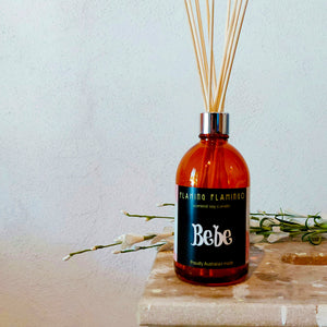 BEACH BUM REED DIFFUSER - flaming flamingo