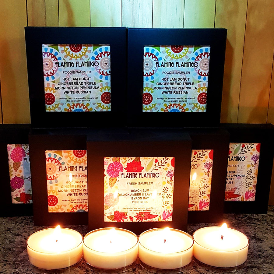 SOY CANDLE SAMPLER PACK