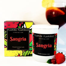 SANGRIA SOY CANDLE - Fresh tropical fruit