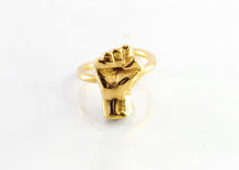 Anillo MUTE bronce