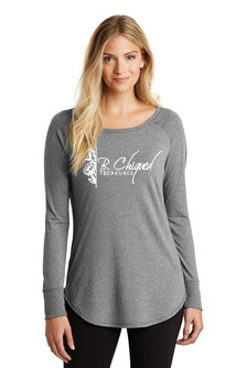 Light Grey - Long Sleeve Ladies