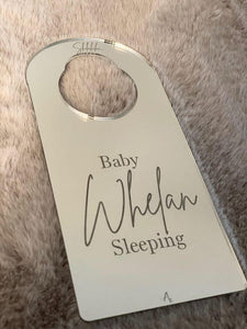 Children door hanger