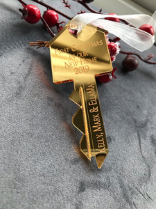 New home Christmas key