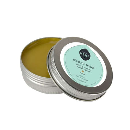 CBD Salve, 150mg, smooth, green, balm.