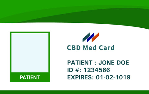 do you have to have a medical card to buy cbd